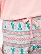 Koton Yazılı Baskılı Pijama Seti Pembe